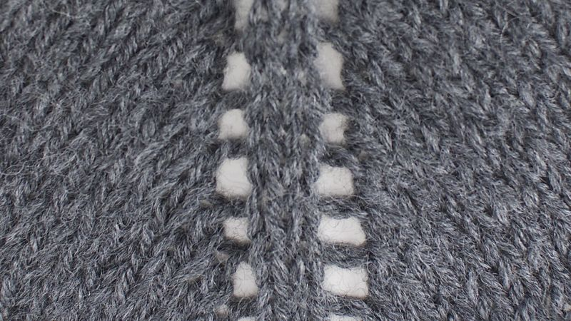 Yarn Over Increase with Two Center Stitches