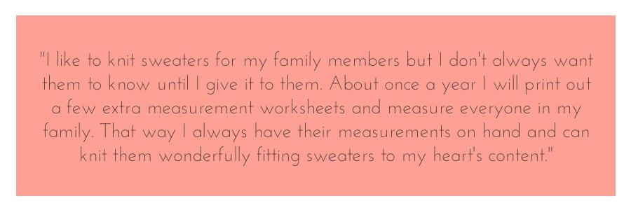 measurement quote
