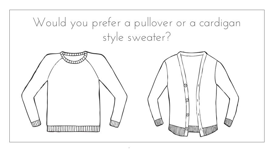 sweater design style