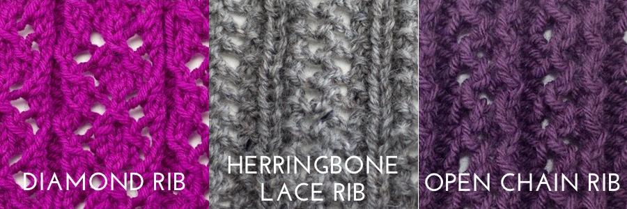 lace ribbing