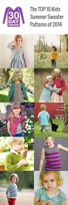 Top 10 Kids Summer Sweater Patterns of 2014