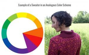 Analogous colors, color scheme, color wheel