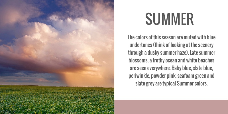 color analysis, seasonal, summer