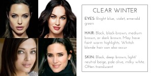 clear winter color analysis