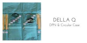 della q dpn and circular needle case organization