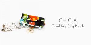 Chic-a key rig pouch organization