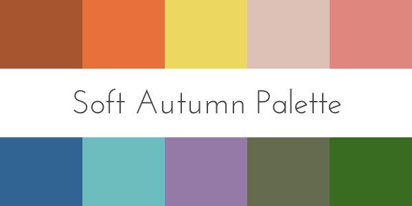 soft autumn color palette color analysis