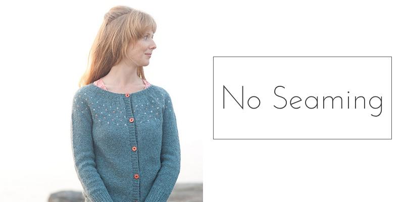 yoked sweater no seaming