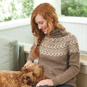 Chevrons sweater pattern