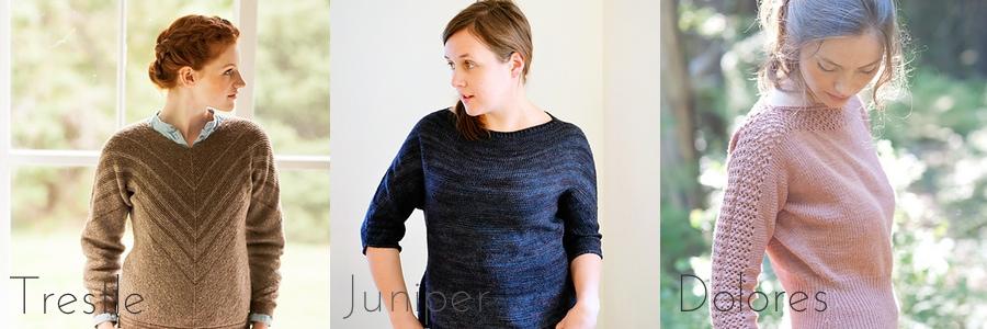 sweater construction dolman sleeve pattern