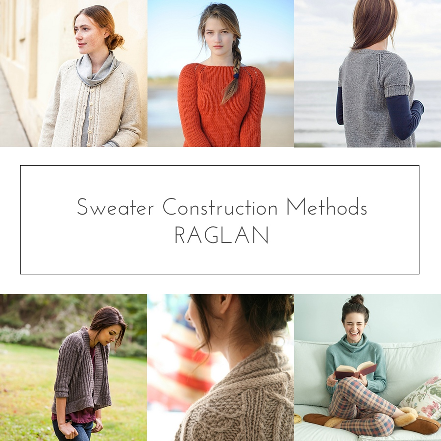 sweater construction raglan