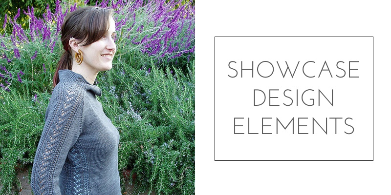 saddle shoulder showcase design elements