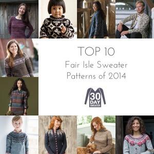 top ten fair isle sweater patterns