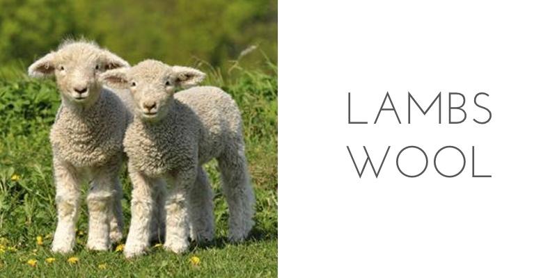 fiber types lambs wool